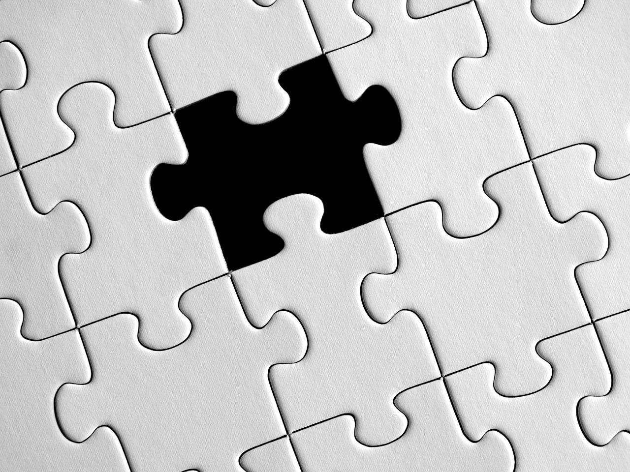 Puzzleteil fehlt